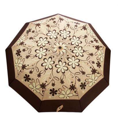 Женский зонт Gimpel 16080-2 Коричневый