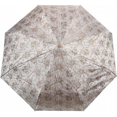 Женский зонт Три слона 120-1 ( Жаккард-Серебристый  )