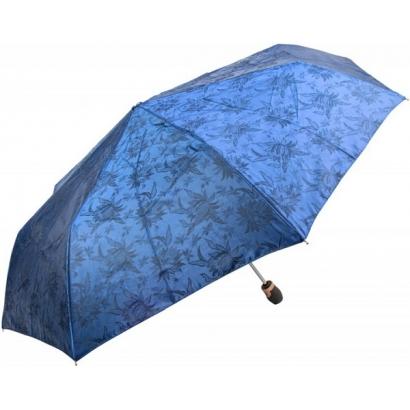 Женский зонт Три слона 120-2 ( Жаккард-Синий  )