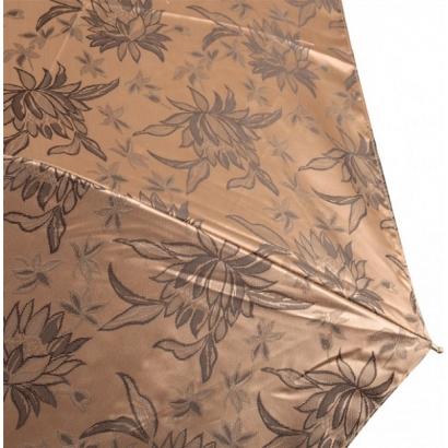 Женский зонт Три слона 120-4 ( Жаккард-Золотой  )