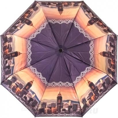 Женский зонт Три слона 884-28 ( Сатин  )