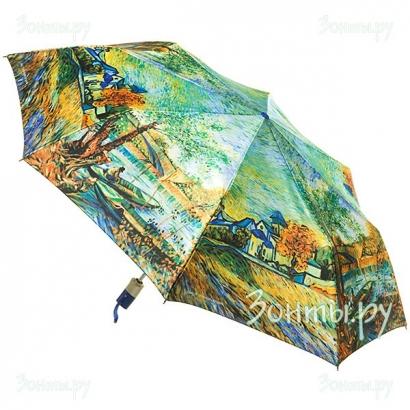 Женский зонт Zest 23744-9 ( Фото Сатин )